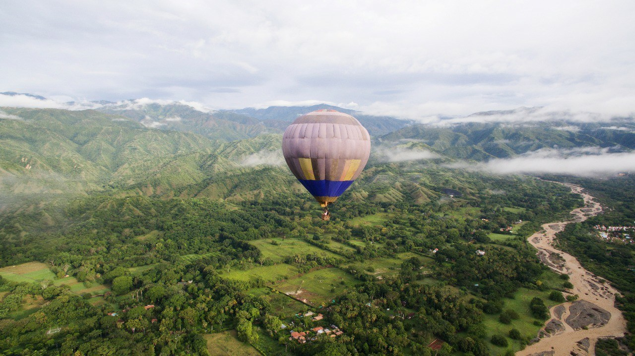 Hot Air Balloon and Cocoa experience